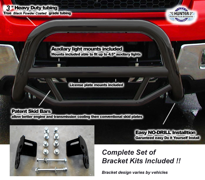 Fab Fours Premium Grille Guard Front Bumper Chevy Silverado Ford F250-F350 Super Duty Honey Badger Front Bumper Images - Frompo
