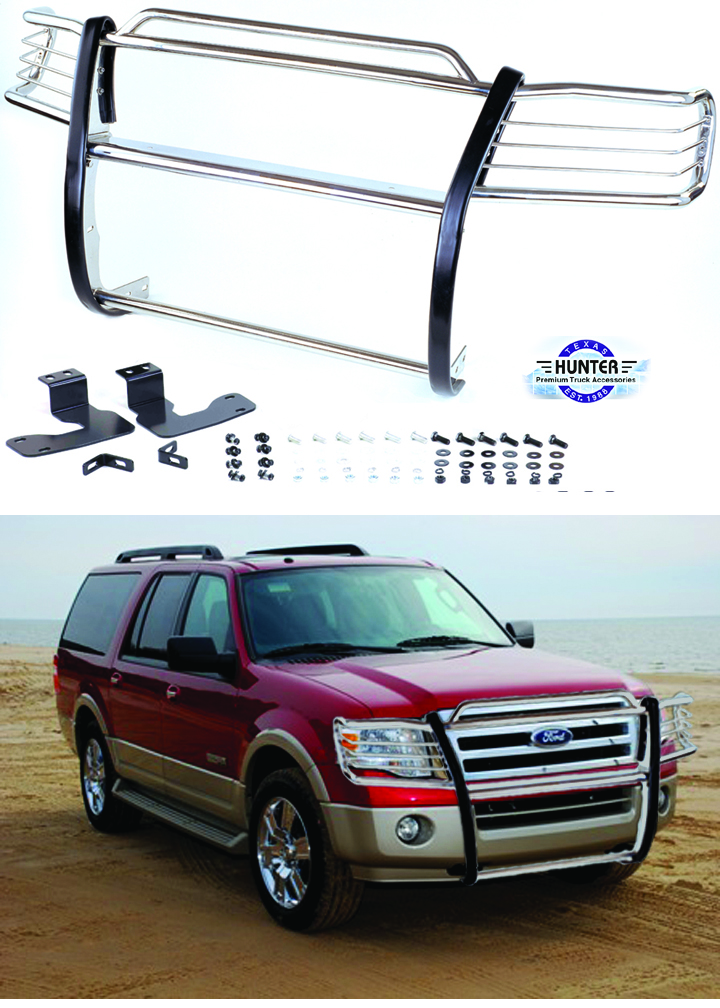 Ford Expedition Bumper Guard : Ford expedition grille guards brush bumper stainless