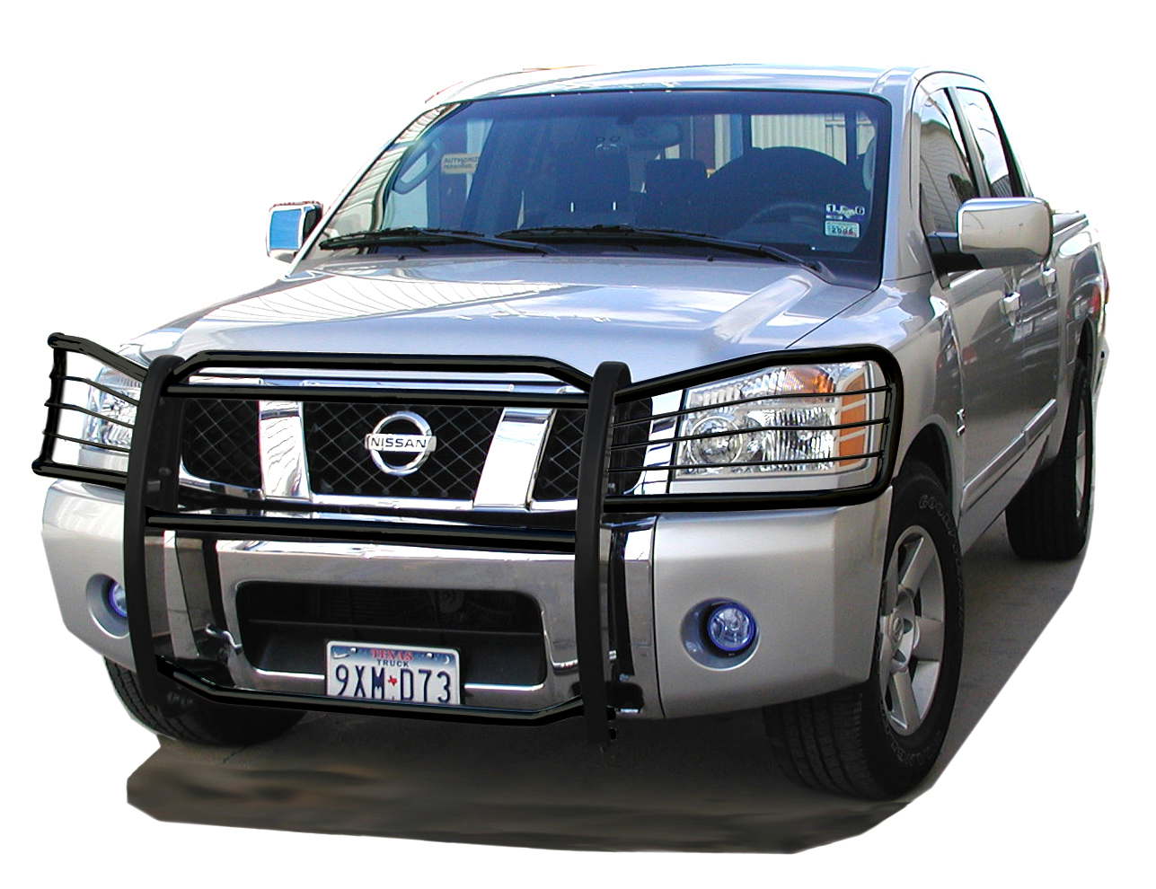 Other Items Faqs Warranty Contact Us Application Charts Grille Guards Bull Bars Running Boards Sports Bars Item Gn 804 F 120 Bk 309 04 15 Nissan Titan Armada Grill Guard Black List Price 499 Our Sale Price Only