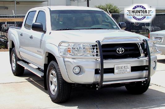 2005-2014 Toyota Tacoma chrome bumper grille Grill Brush ...