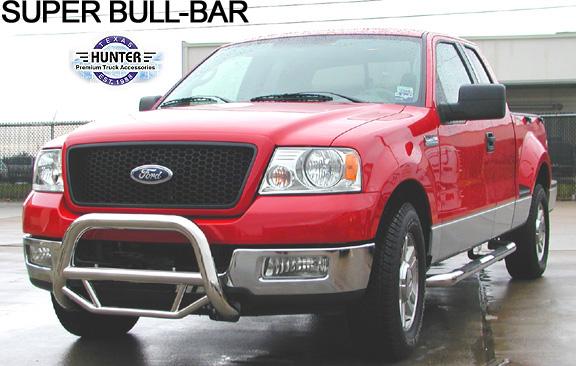 Wf 510 04 08 Ford F150 New Body Super Bull Bar